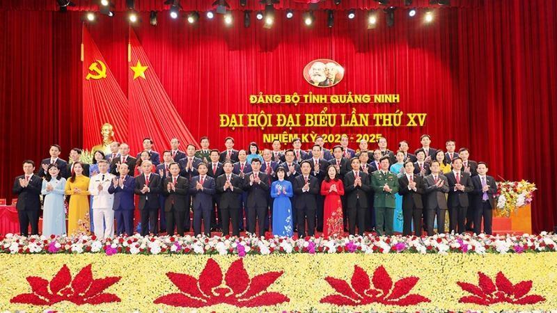 Bế mạc Đại hội đại biểu Đảng bộ tỉnh Quảng Ninh lần thứ XV.