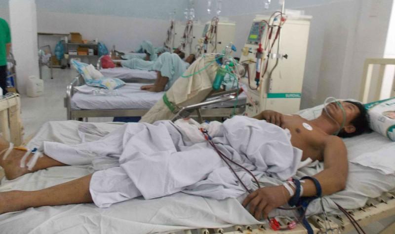 Dù được các bác sỹ tích cực cứu chữa nhưng ông Nhàn đã tử vong