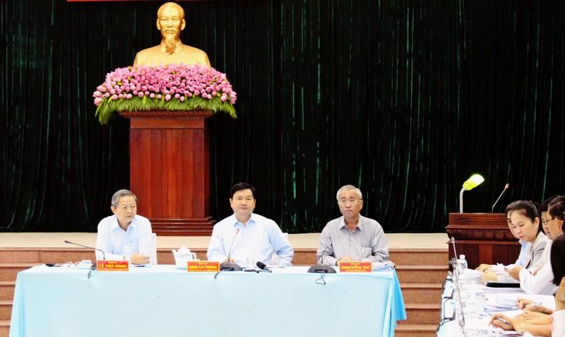 Bí thư Thăng làm việc huyện Hóc Môn