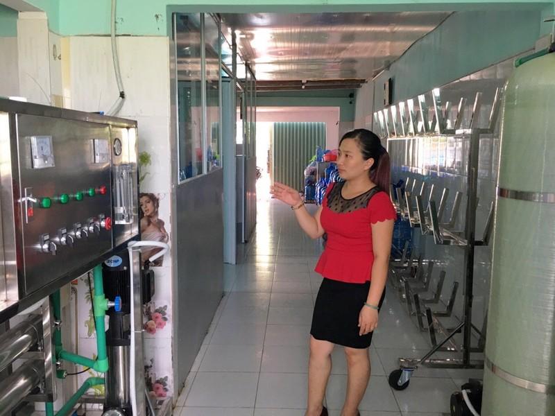 Bà Hương cho biết doanh nghiệp bà đã đầu tư hàng tỷ đồng vào xây dựng  nhà xưởng, dây truyền sản xuất