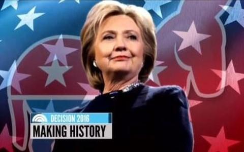Bà Hillary Clinton chính thức trở thành ứng viên Tổng thống