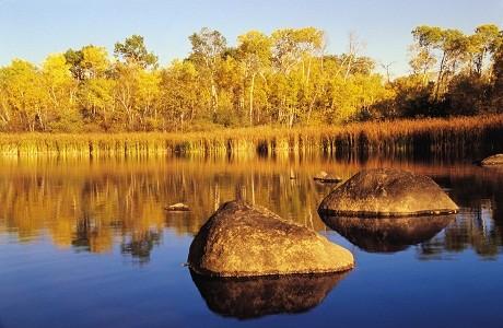 Công viên ở Whiteshell, tỉnh Manitoba, Canada