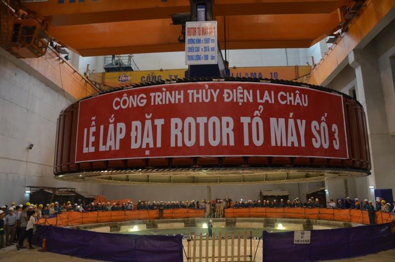 Thủy điện Lai Châu sẽ khánh thành toàn bộ công trình vào tháng 12/2016.