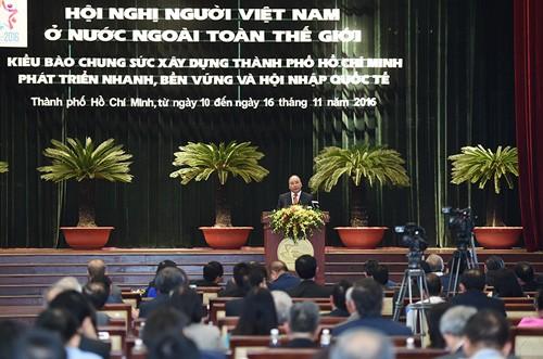 Thủ tướng tin trong tim mỗi kiều bào đều ấm tình yêu quê hương, đất nước