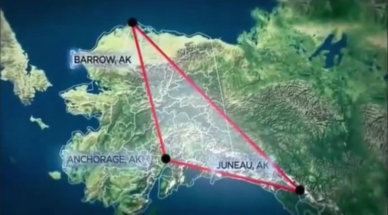 """Bí ẩn khó giải thích quanh """"Tam giác quỷ"""" Alaska"""