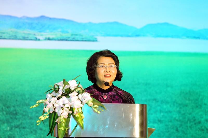 Phó Chủ tịch nước Đặng Thị Ngọc Thịnh đánh giá cao vai trò của các nữ doanh nhân