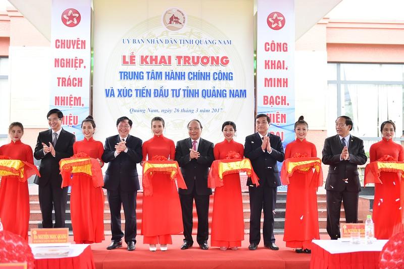 Khai trương Trung tâm Hành chính công và Xúc tiến đầu tư tỉnh Quảng Nam