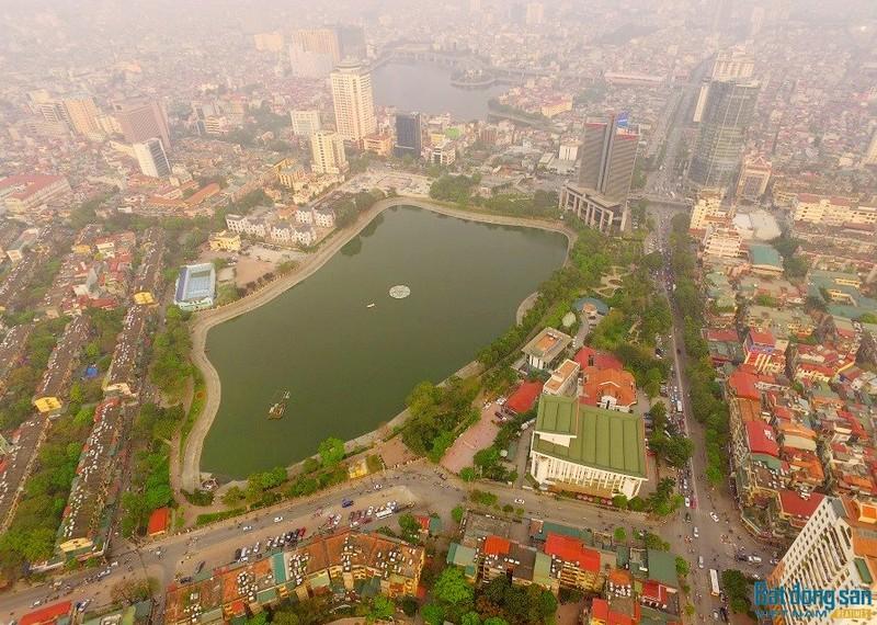 Khoảng hồ trong xanh này sẽ bị thay đổi nếu đề xuất của Chủ đầu tư được TP Hà Nội chấp nhận