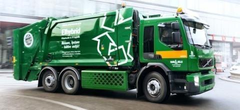 Mẫu xe rác tiên tiến, hiện đại có giá gần 1 tỷ đồng/chiếc, được Tập đoàn Tân Hoàng Minh tài trợ cho thành phố Hà Nội.