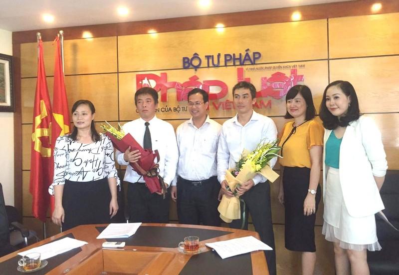 Giao lưu trực tuyến cùng Vụ trưởng Pháp luật Quốc tế Bạch Quốc An và Q. Vụ trưởng Vụ ASEAN Vũ Hồ