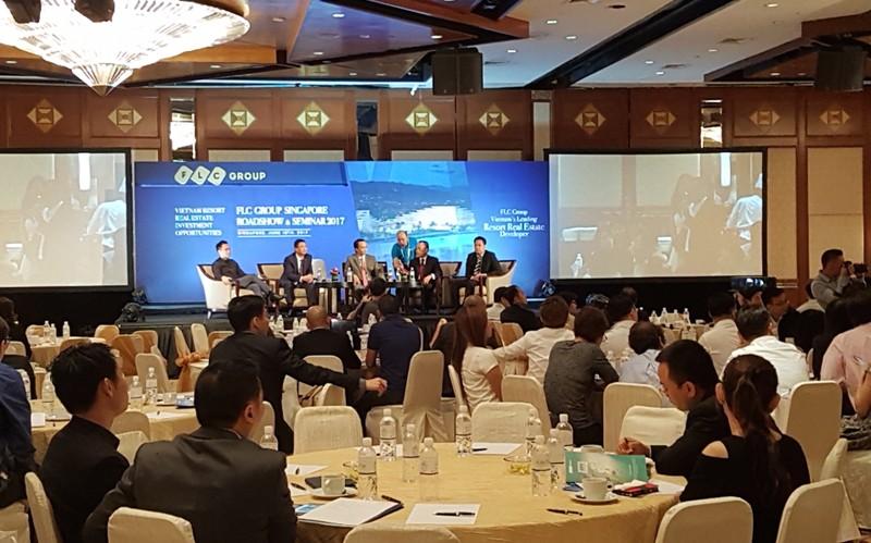 Nhà đầu tư Singapore háo hức với bất động sản nghỉ dưỡng của FLC