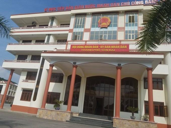 Trụ sở UBND TP Yên Bái.