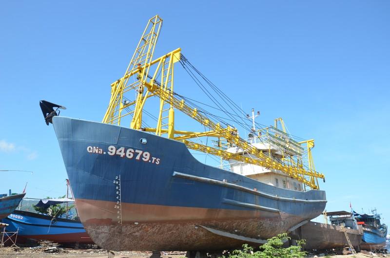 Tàu của ngư dân Trần Văn Liên