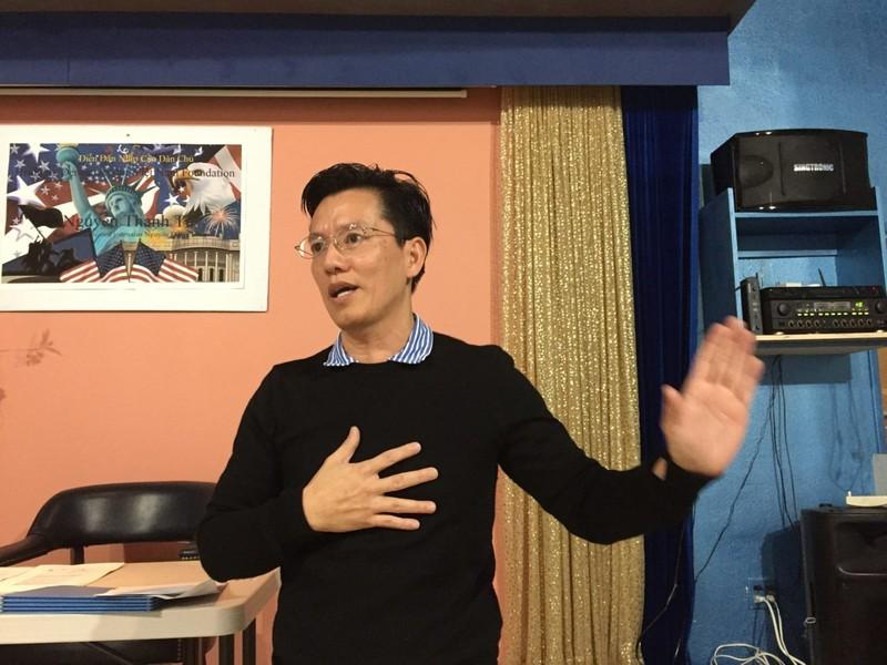 Anh Nguyễn Thanh Tú, con trai ký giả Nguyễn Đạm Phong