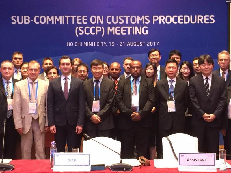 Họp Tiểu ban Thủ tục Hải quan lần thứ 2 bên lề Cuộc họp các Quan chức cấp cao lần thứ 3 trong năm APEC 2017