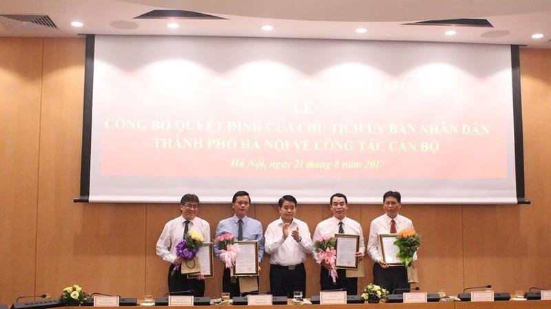 Hà Nội có tân Giám đốc Sở Tư pháp