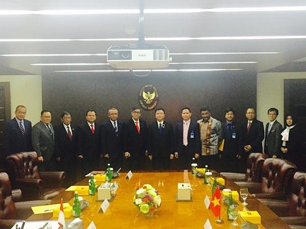 Thiết lập quan hệ hợp tác song phương về pháp luật giữa Việt Nam và Indonesia