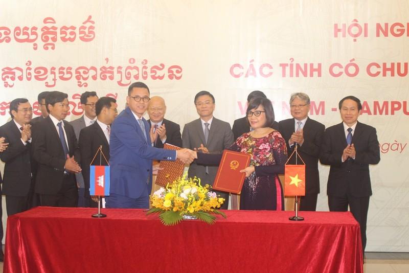 Động lực mới cho sự tăng cường hợp tác giữa hai ngành Tư pháp Việt Nam - Campuchia