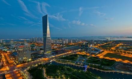 Đặc khu kinh tế Incheon Hàn Quốc.
