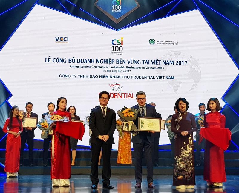 Prudential liên tiếp được ghi nhận thành tích với hàng loạt giải thưởng trong nước và quốc tế