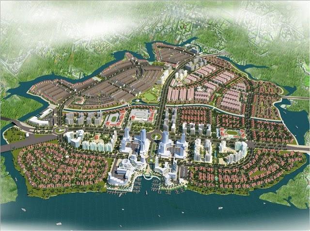 Phối cảnh dự án Khu đô thị kinh tế mở Long Hưng