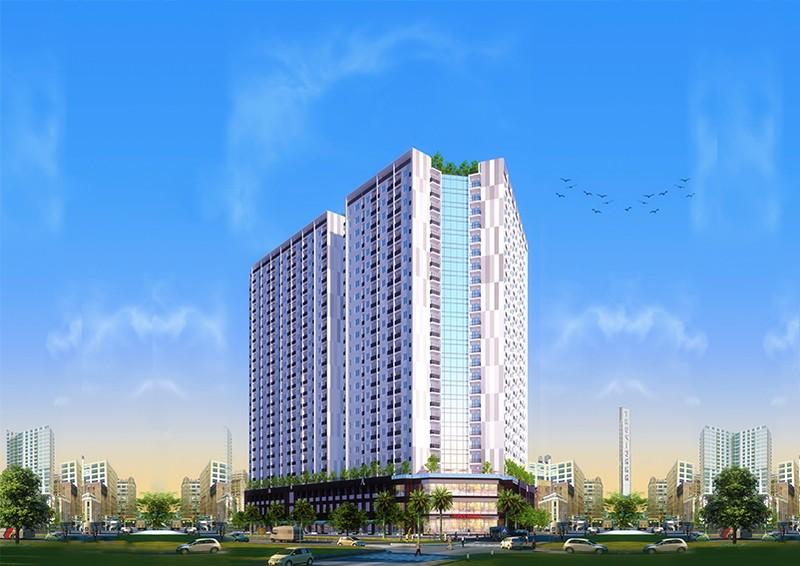 Phối cảnh tổng thể dự án P.H Complex Nha Trang