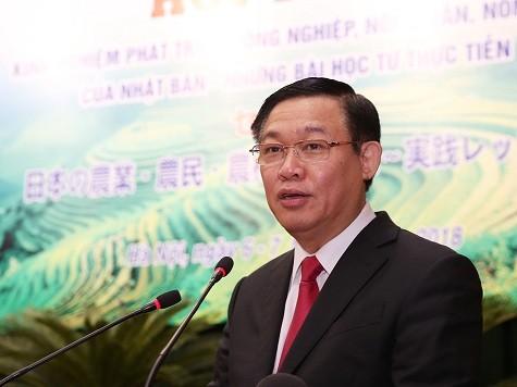Phó Thủ tướng Vương Đình Huệ phát biểu tại Hội thảo