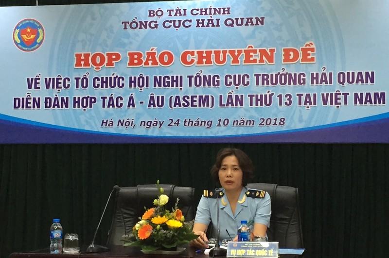 Hải quan Việt Nam đăng cai tổ chức Hội nghị Tổng cục trưởng Hải quan Diễn đàn Hợp tác Á - Âu lần thứ 13