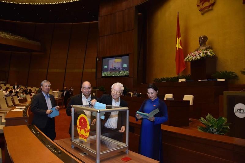 Công bố kết quả lấy phiếu tín nhiệm 48 chức danh lãnh đạo