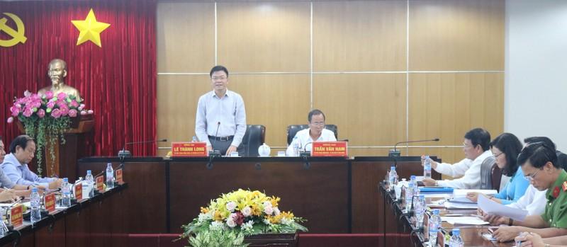 Bộ trưởng Lê Thành Long: Tư pháp, Thi hành án dân sự Bình Dương góp phần phát triển kinh tế, xã hội