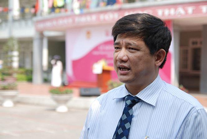 Ông Phạm Xuân Tiến, Phó Giám đốc Sở GD&ĐT Hà Nội  khẳng định quan điểm của Sở là yêu cầu xử lý nghiêm nếu đúng có chuyên như vậy xảy ra.