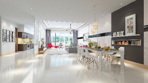 TNR GoldSeason có nhiều loại căn hộ đa dạng cho khách hàng lựa chọn.