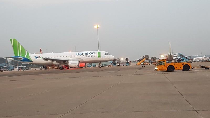 Bamboo Airways khởi hành chuyến bay thương mại đầu tiên QH202 Sài Gòn - Hà Nội