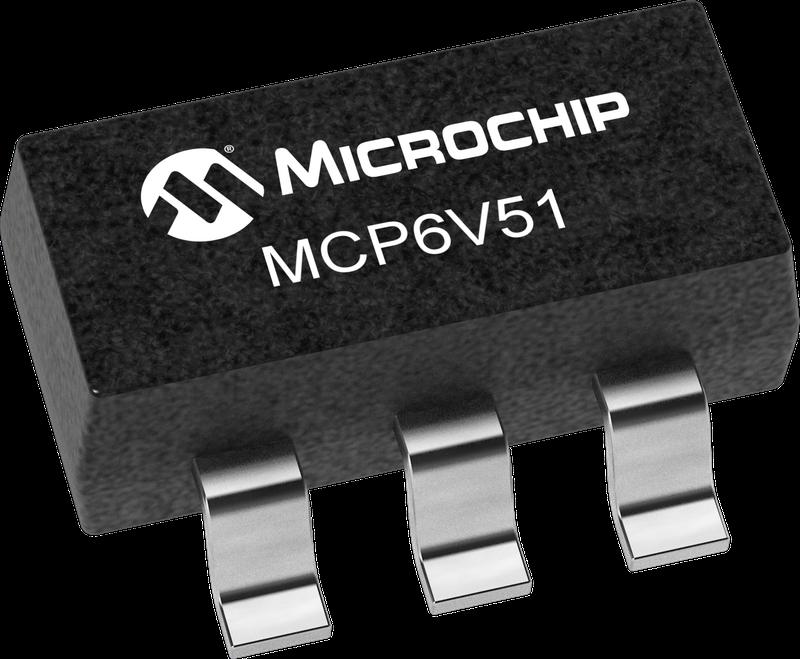Microchip Technology Inc. ra mắt Bộ khuếch đại thuật toán zero-drift MCP6V51
