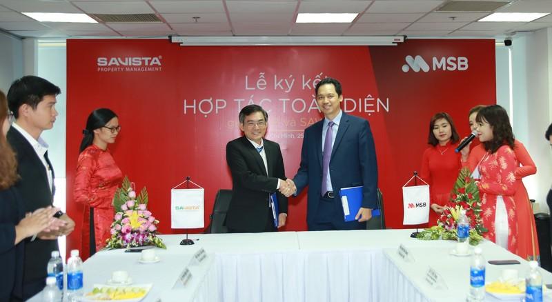 MSB cung cấp giải pháp tài chính toàn diện cho khách hàng của SAVISTA