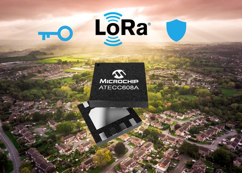 LoRa® cung cấp khóa an toàn dự phòng với Microchip và The Things Industries