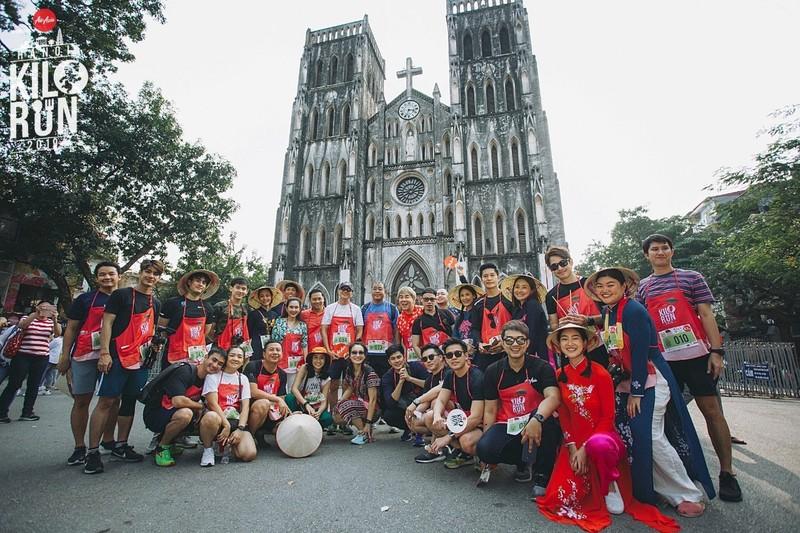 """7 quốc gia cùng tham dự sự kiện sôi động hành trình trải nghiệm phong cách sống Châu Á """"KILORUN Hà Nội 2019"""""""