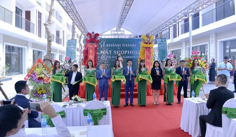 Tập đoàn CEO khánh thành và ra mắt shophouse Khu đô thị Sunny Garden City
