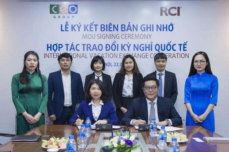 Tập đoàn CEO tiến tới hợp tác trao đổi kỳ nghỉ cùng RCI