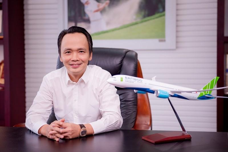 Ông Trịnh Văn Quyết - Chủ tịch Tập đoàn FLC, Chủ tịch kiêm Tổng giám đốc Bamboo Airways