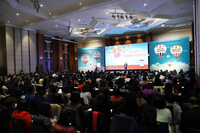 """Hội nghị đầu tư """"tư duy thịnh vượng"""" của Manulife thu hút gần 500 nhà đầu tư - 1"""