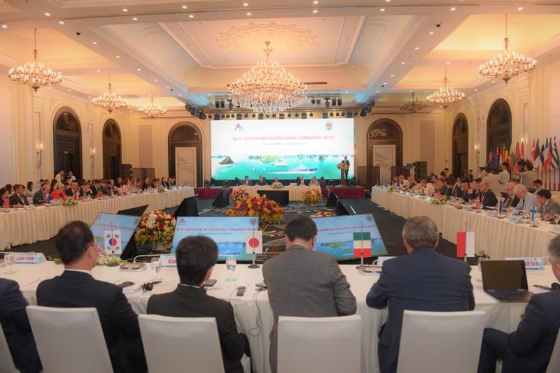 Khai mạc Hội nghị Tổng cục trưởng Hải quan ASEM lần thứ 13