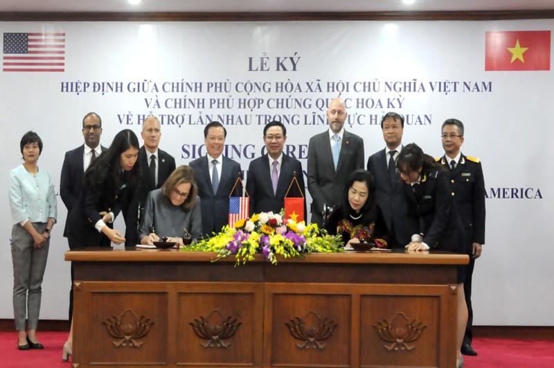 Việt Nam và Hoa Kỳ ký kết Hiệp định về Hỗ trợ lẫn nhau trong lĩnh vực hải quan