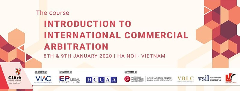 Ngày 8/1: Khai mạc khoá đào tạo trọng tài thương mại quốc tế tại Hà Nội
