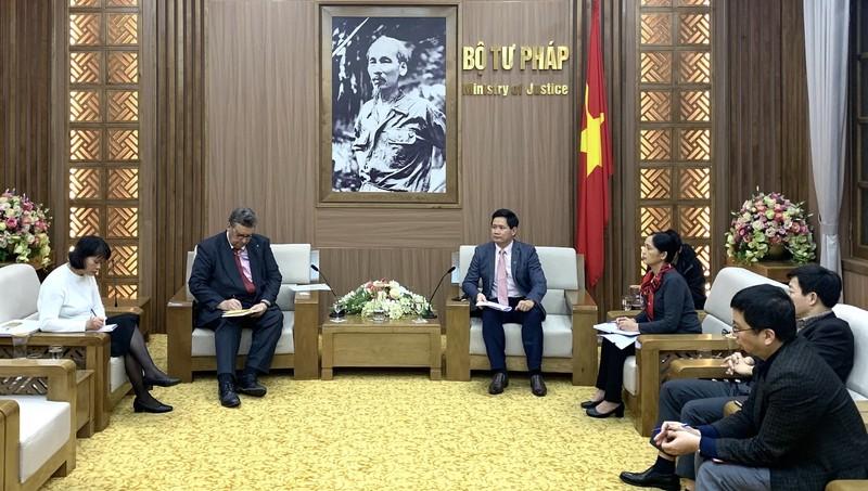 Tăng cường quan hệ hợp tác pháp luật và tư pháp giữa Việt Nam và Phần Lan