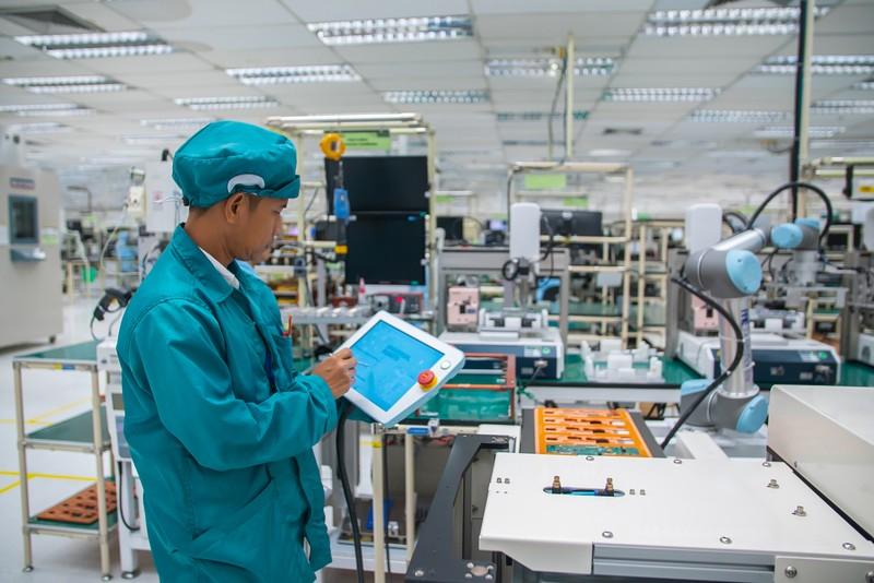 Giải pháp tự động hóa robot  giúp tăng cường năng lực cho nhà sản xuất