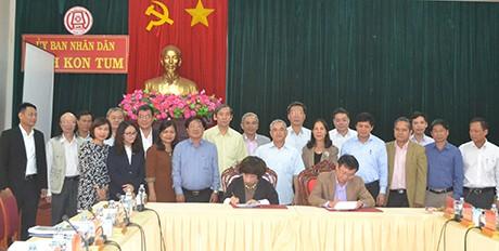 Tập đoàn TH đầu tư 4 dự án có tổng diện tích hơn 12.800ha tại Kon Tum