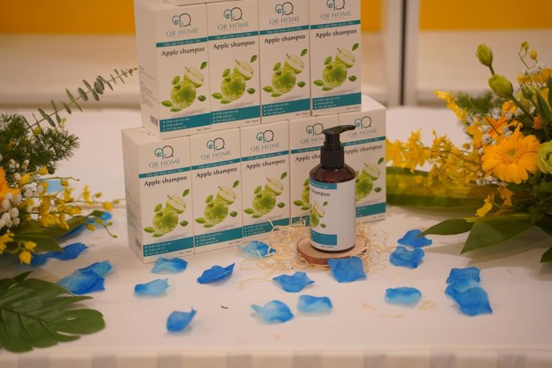 Chaveny ra mắt dòng sản phẩm mới mang thương hiệu dầu gội đầu QR HOME