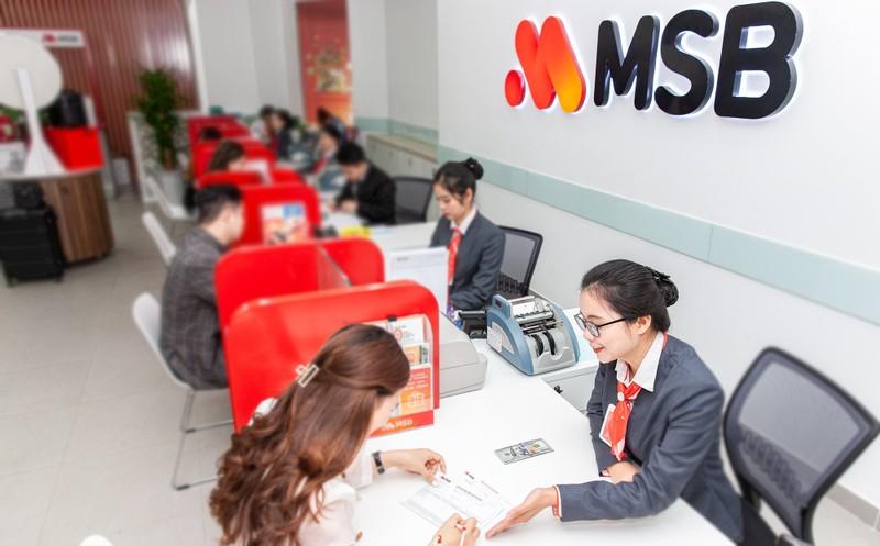 Lợi nhuận trước thuế vượt kế hoạch, MSB dự kiến chia cổ tức tối thiểu 15%