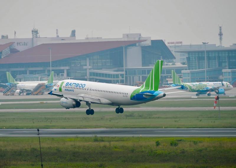 Lượng khai thác tuần đường bay Hà Nội - TP. HCM của Bamboo Airways lần đầu vào top 2